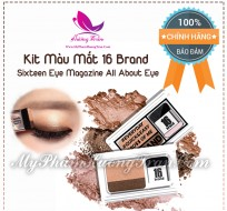 Kit Màu Mắt 16 Brand Sixteen Eye Magazine All About Eye