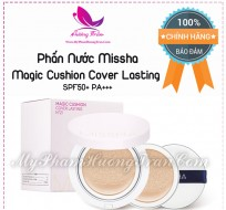 Phấn Nước Kiềm Dầu Missha Magic Cushion Cover Lasting SPF50+ PA+++